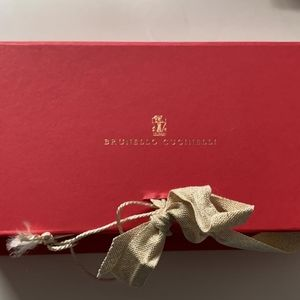 Bruno cucinelli red envelope